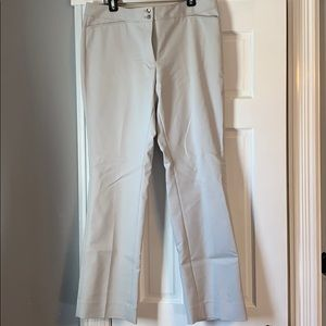 White House Black Market Straight Leg Dress Pant
